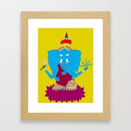 My Religion Framed Art Print