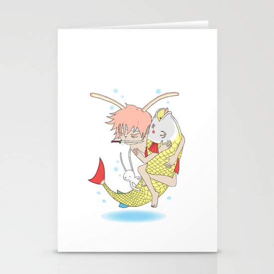 安寧 HELLO - FISHING EP003 Stationery Cards