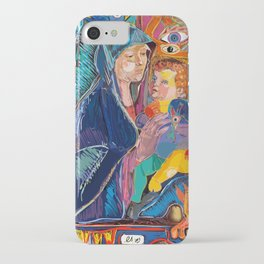 Bellini Street Art Graffiti Remix iPhone Case