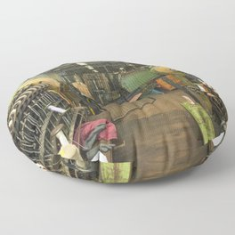 Loom ing Floor Pillow