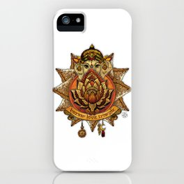 Keep Korma and Curry On iPhone Case