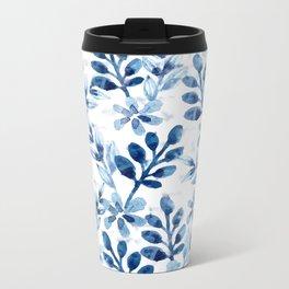 Watercolor Floral VIII Metal Travel Mug