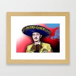 Jorge Negrete Framed Art Print