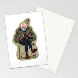 Miffed Mitten Bernie Stationery Cards