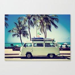 Caravan Life Canvas Print