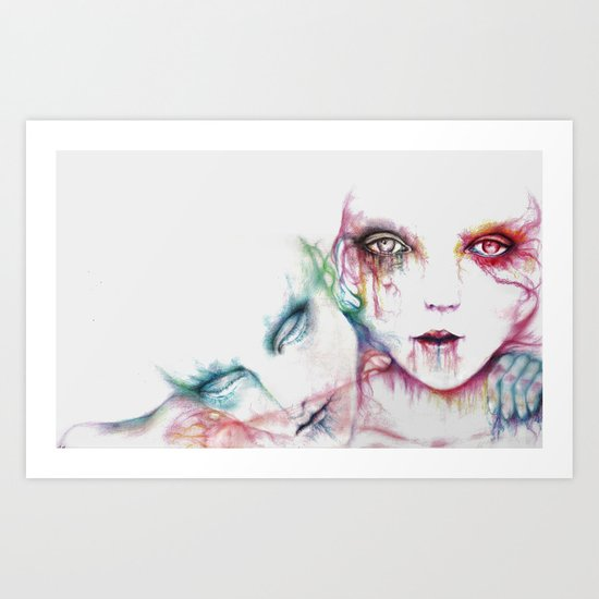 Two Spirited Art Print