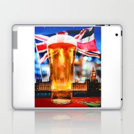 English Beer In A London Pub Laptop & iPad Skin