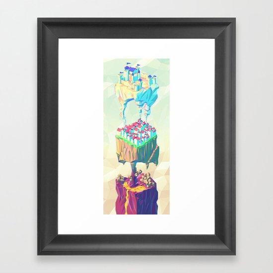 Triplex Framed Art Print