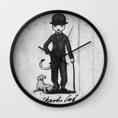 Charlie Cat Wall Clock