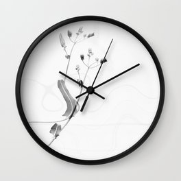 Colorblind nature Wall Clock