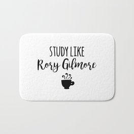 Gilmore Girls - Study like Rory Gilmore Bath Mat