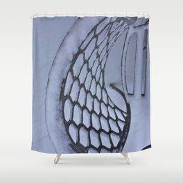 Snow Art Shower Curtain