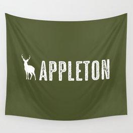Deer: Appleton, Wisconsin Wall Tapestry