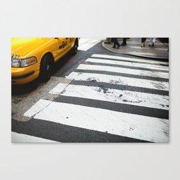 Turn Left Canvas Print