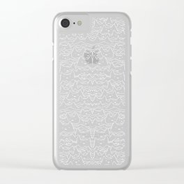 Wave of Cats Clear iPhone Case