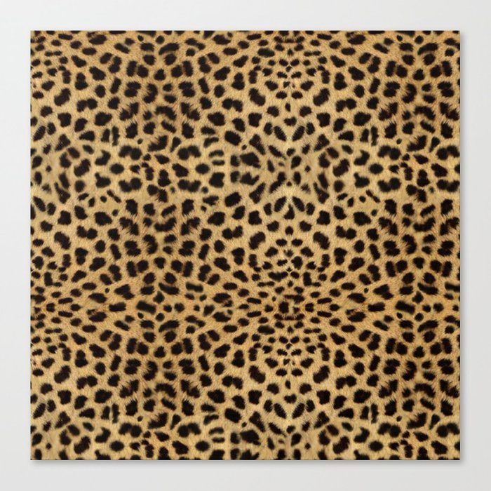 Cheetah Print Leinwanddruck