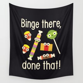 Half in the Bag Again Wall Tapestry