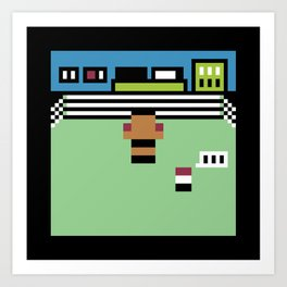 Minimal NES: Mike Tyson's Punch Out Art Print