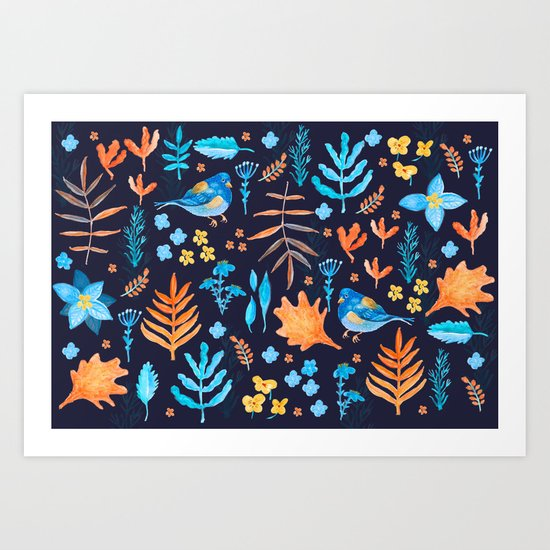Winter Nature Art Print
