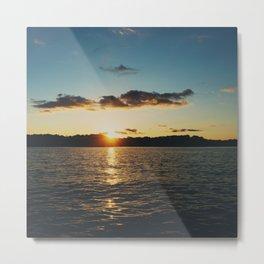 Sunset over Lake of the Ozarks  Metal Print