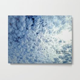 Reach for your dreams Metal Print