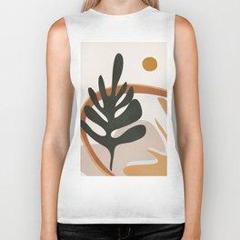 Abstract Plant Life I Biker Tank