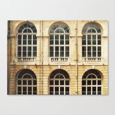 Château Windows Canvas Print