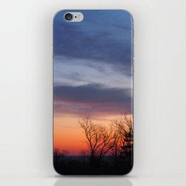 Cloudy Sunrise iPhone Skin