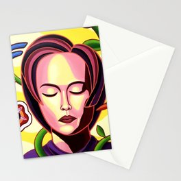 Feeling the flow in the Hanoi Spring Stationery Cards