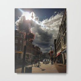Harvard Square Metal Print