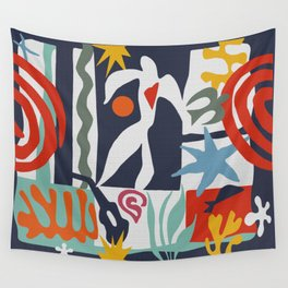 Inspired to Matisse Wall Tapestry