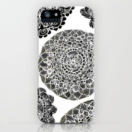 Mandala Mazes iPhone Case