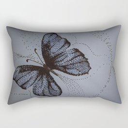 On Dotted Wings Rectangular Pillow