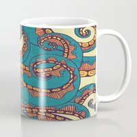 octopus Mugs featuring Octopus by Arcturus