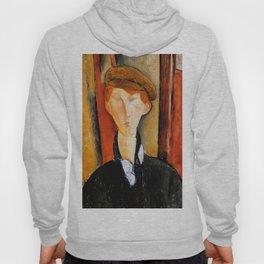 """Amedeo Modigliani """"Young Man with Cap"""" Hoody"""