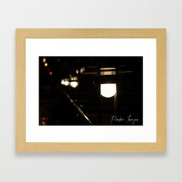 Path of Light Framed Art Print