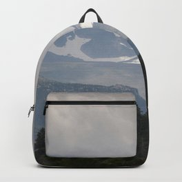 Winter Mountain Storm Backpack