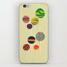 Sweet lollipop iPhone Skin