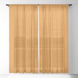 Dark Cheddar - Fashion Color Trend Fall/Winter 2019 Sheer Curtain
