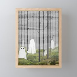 The Woods are full of Ghosts Framed Mini Art Print