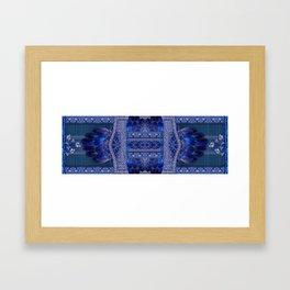 Indigo Fetish Framed Art Print