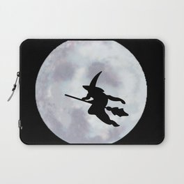 Witch, Witch Flying Across the Moon Laptop Sleeve