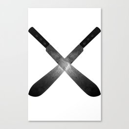 Cross Machete Canvas Print