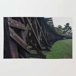 Harpers Ferry Elevated Railroad Rug