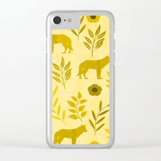Forest Animal and Nature III Clear iPhone Case