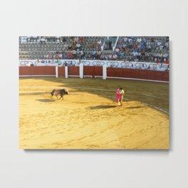 The Bull and the Matador Metal Print
