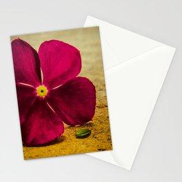 i send you a flower Stationery Cards