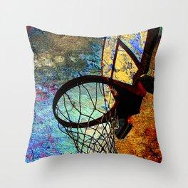Basketball vs 71 Throw Pillow