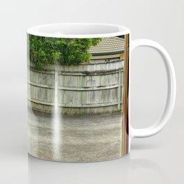 Driveway Through The Window Coffee Mug