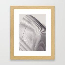 New York City, original fine photography, Manhattan, Oculus, Calatrava, World trade center, path Framed Art Print